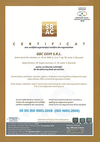 ISO GBC
