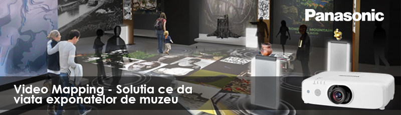 Muzeul Astra Sibiu prinde viata cu solutii video mapping Panasonic