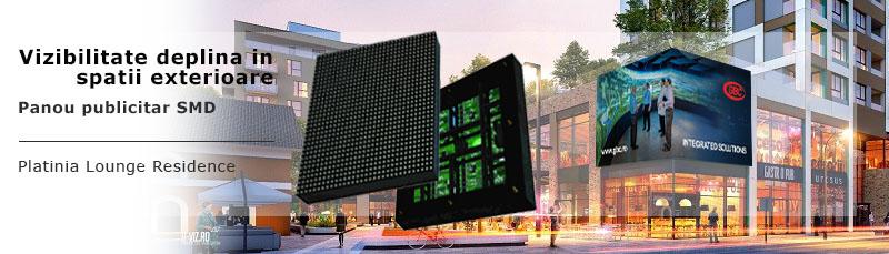 panourilor SMD in proiecte videowall