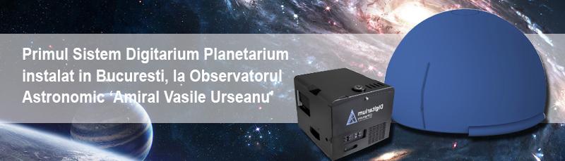 Primul planetariu portabil a ajuns la Observatorul Astronomic