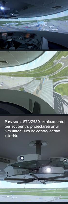 Romatsa- Simulator turn control, 360 grade