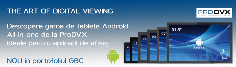 Tablete Android All-in-one de la ProDVX
